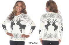 Angora Christmas Sweater  79% off at Groopdealz