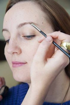 Next, brows. | How To Do Your Make Up, For Absolute Beginners