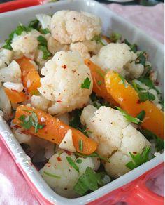 FIRINDA KUZU PİRZOLA; - MOR BOSTAN Potato Salad, Cauliflower, Potatoes, Iftar, Vegetables, Ethnic Recipes, Food, Cauliflowers, Meal