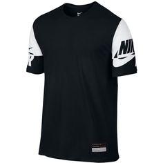 ca643ef84cbbc3 Nike Men s Air Logo-Sleeve T-Shirt ( 35) ❤ liked on Polyvore