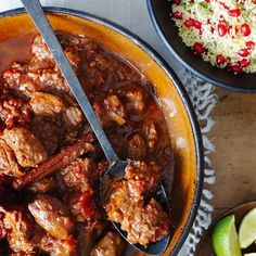 This dish is a delicious, spicy antidote to traditional Christmas fare, but can also be eaten all year round.