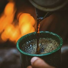 There is something freeing about enjoying a cup of coffee in the great outdoors.