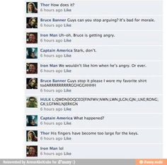 Avengers chat / iFunny :)
