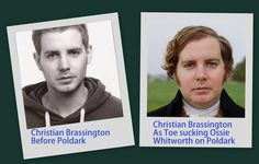 Christian Brassington as the Toe sucking Ossie Whitworth on Poldark is a transformation shocker!