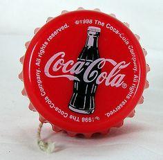 1998 Coca Cola Bottle Cap Yo Yo   eBay #vintage #cocacola #coke