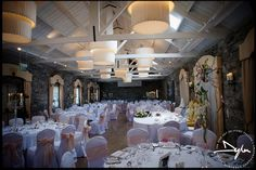 Amazing wedding reception in Ballymagarvey Village by Dylan McBurney