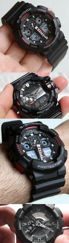 Cool Casio G-Shock black watches