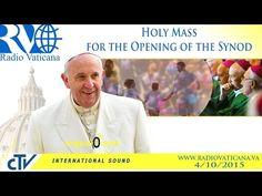 EN DIRECTO: El Papa Francisco preside la misa de apertura del Sínodo de la Familia