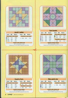 Gallery.ru / Фото #4 - Cross Stitch Crazy 021 июнь 2001 - tymannost