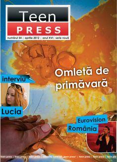 Coperta - Revista de liceu Teen Press - Ompleta de Primavara http://www.teenpress.ro/articole/revista-teen-press-nr-54-omleta-de-primavara/