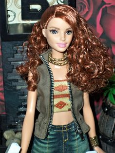 Evolution Tall Barbie Red Head OOAK style by Aneka