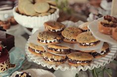 #cocolovehomemade chippie #whoopiepies at our #terrain wedding. Photography by Krystal Mann. coco love wedding at Terrain at Styers