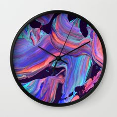 "Shop for our wall clocks. Available in natural wood, black or white frames, our 10"" diameter unique Wall Clocks feature a high-impact plexiglass crystal face and a backside hook for easy hanging. Worldwide shipping available at Society6.com"