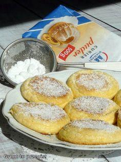 GRUNT TO PRZEPIS!: Placuszki biszkoptowe z cukrem pudrem