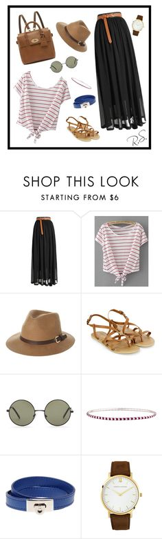 """""""Something Casual...💼"""" by rebecca0022 ❤ liked on Polyvore featuring Rusty, Accessorize, Forever 21, Tiffany & Co., Salvatore Ferragamo, Larsson & Jennings and Mulberry"""