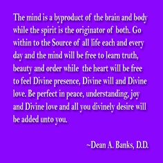Welcome to The Spirituality Post Daily! Daily Posts by Dean A. Banks, D. Spiritual Needs, News Magazines, Banks, Dean, Spirituality, Mindfulness, Feelings, Learning, Posts