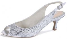 Ivory Pink Glimmer Bridal Shoes