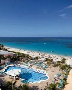 Over-looking the Pool-Riu Palace Paradise Island.... https://www.facebook.com/queenkingtravel