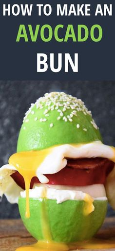 Ditch the Bread and Try Eating an Avocado Bun Instead