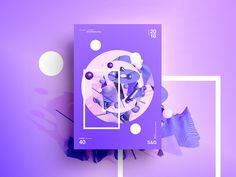 👁Show & Go👁 040 | Purple City by MadeByStudioJQ Purple City, Design Process, Palette, Facebook Youtube, Psychology, Instagram, Behance, Graphics, Twitter