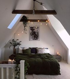 bedroom string lights #home #house More