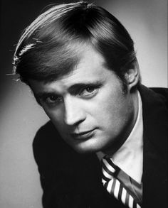 """David Mccallum, when he was on """"Man from Uncle"""". Actor and muscian."""