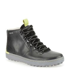 Nanu Hike Gtx in Black Leather - Mens Boots from Clarks