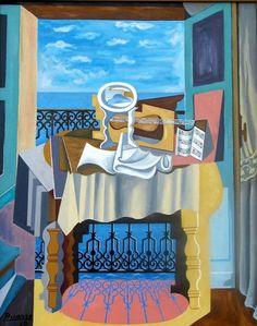 Picassos Open Window