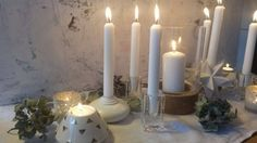 julebord Candles, Candle Sticks, Candle, Lights