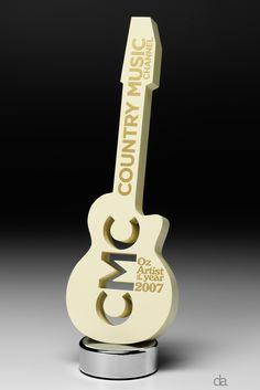 Country Music Channel Awards 2007 | Design Awards | #bespoke #trophy #moderndesign