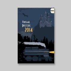 2014 Vintage posters Wall Calendars #ARTSPROJEKT #SteveThomas