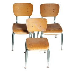 For the antiquer: Vintage school chairs from @batterseasf, $50 each #giftguide2012