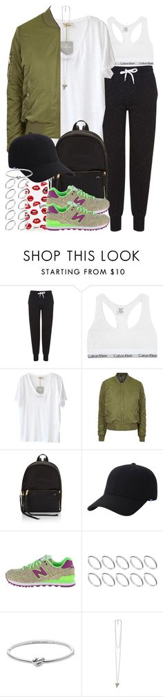 """""""Sin título #3879"""" by hellomissapple ❤ liked on Polyvore featuring Topshop, Calvin Klein Underwear, American Vintage, Sonix, Keds, New Balance Classics, ASOS, Michael Kors and Givenchy"""