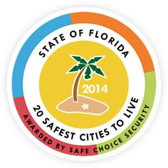 Safe Choice Security explores 20 Safest Cities in Florida: Safest Places to Live in FL to help assist you and keep you safe in more ways than just Home Security!