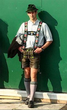 Hot Men, Hot Guys, German Men, Character Costumes, Bavaria, Suspenders, Traditional Dresses, Closets, Attitude