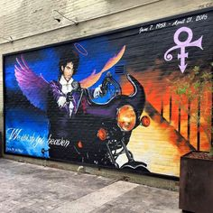 The Prince street art in Tucson, AZ is complete and it's truly stunning.