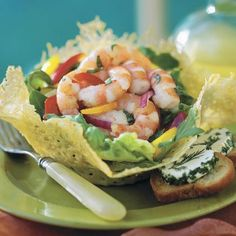 Don't skip the fresh lemon rind and juice in the lemon-basil marinade--it's what makes this salad recipe special. These shrimp also make...