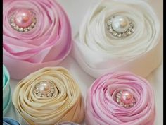 DIY:Easy to make Rolling Flower Tutorial by SaCrafters - YouTube
