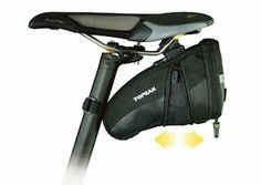 Topeak Aero Wedge Pack with Buckle (Medium)  by Topeak  4.5 out of 5 stars  See all reviews (193 customer reviews)  List Price:	$24.99  Price:	$16.88