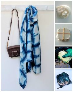 All you need to know to create an indigo vat and make your own indigo shibori scarf!