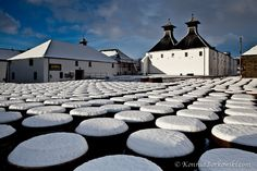 Isle of Islay...barrels for whiskey ..(by Konrad Borkowski)