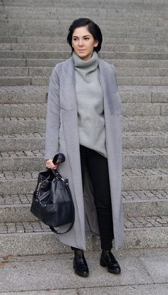 Kate I. - Sheinside Coat, Sheinside Sweater, Pull & Bear Pants, Zara Bag, Zara Shoes - Mf/012115