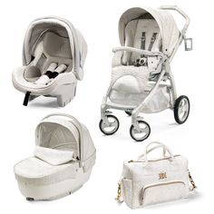 I share Young Versace Stroller White with Pinterest from Babyshop! (item page)