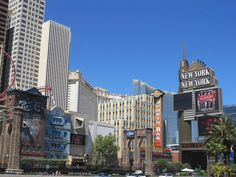 No place like the New York, New York in Vegas!