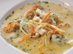 Rybí polévka is a viscous fish soup made with carps including the innards, sperm, roe and the head.  This is a soup traditionally eaten at Christmas.