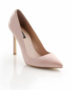Blush pumps, new alternative for nude