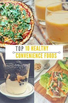 One registered dietitian's Top 10 Healthy Convenience Foods to make eating a nourishing diet a breeze. Mom's Kitchen Handbook.