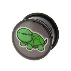 Logo plugs - Sir Tortoise (per paar)