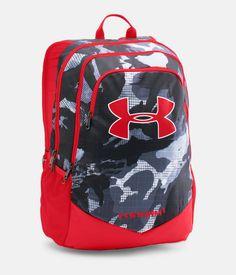 Under Armour Boy's Storm Scrimmage Backpack, Black One Size Red Backpack, Shoulder Backpack, Backpack Straps, Kids Backpack Boys, Backpack For Teens, Backpack Online, Boys Backpacks, School Backpacks, Under Armour Backpack