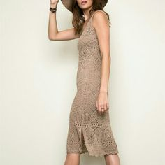 Nude Knit Bodycon Dress Gorgeous and perfect alone or layered under scarfs, and sweaters. Lined. Justina's Closet Dresses